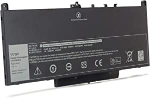 New E7470 J60J5 Laptop Battery Compatible with Dell Latitude E7270 14 7470 12 7270 Fits Dell Part WYWJ2 PDNM2 7CJRC 0MC34Y F1KTM R1V85 MC34Y 242WD GG4FM 1W2Y2 451-BBSY 451-BBSX 451-BBSU Battery