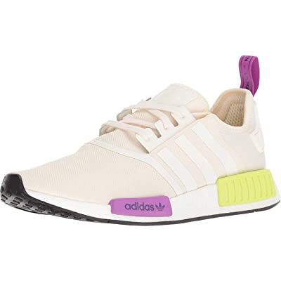 adidas Originals NMD_R1 Shoe - Men's Casual 4 Chalk White/Semi Solar Yellow: Shoes