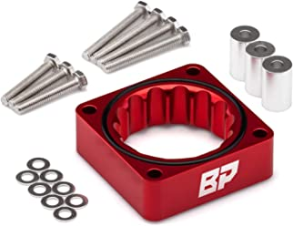 BlackPath T6 Billet Fits Ford F-150 F-250 Super Duty F-350 Super Duty Throttle Body Spacer Performance Blue
