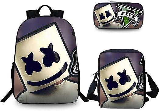 3D Student Bag Mochilas Infantiles Mochilas para Niños Algodón De ...