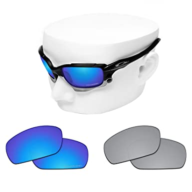 6f60823e7a6 OOWLIT 2 Pair Replacement Sunglass Lenses compatible with Oakley Jawbone  POLARIZED