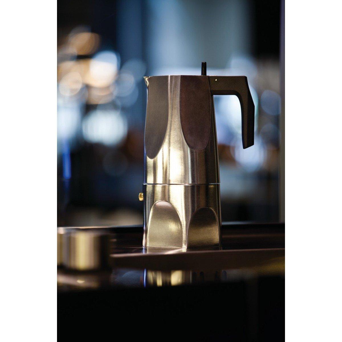 Amazon.com: Alessi ossidiana – Cafetera eléctrica (1 taza ...