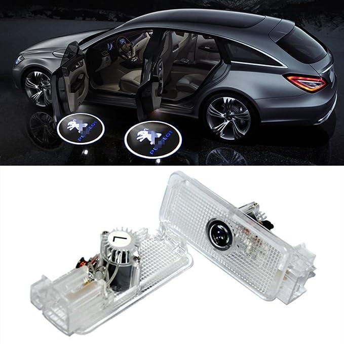 1 opinioni per ZNYLSQ Auto portiera Logo luce LED Proiettori Sottoporta Luce Del Portello di