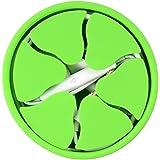 UMTELE イヤホン収納 イヤホンコード 巻き取りケース コードマネージャー コード収納 コードリール からまず ケーブルケース 絡まり防止 シリコン 超ソフト 小物 かわいい(ダークグリーン)