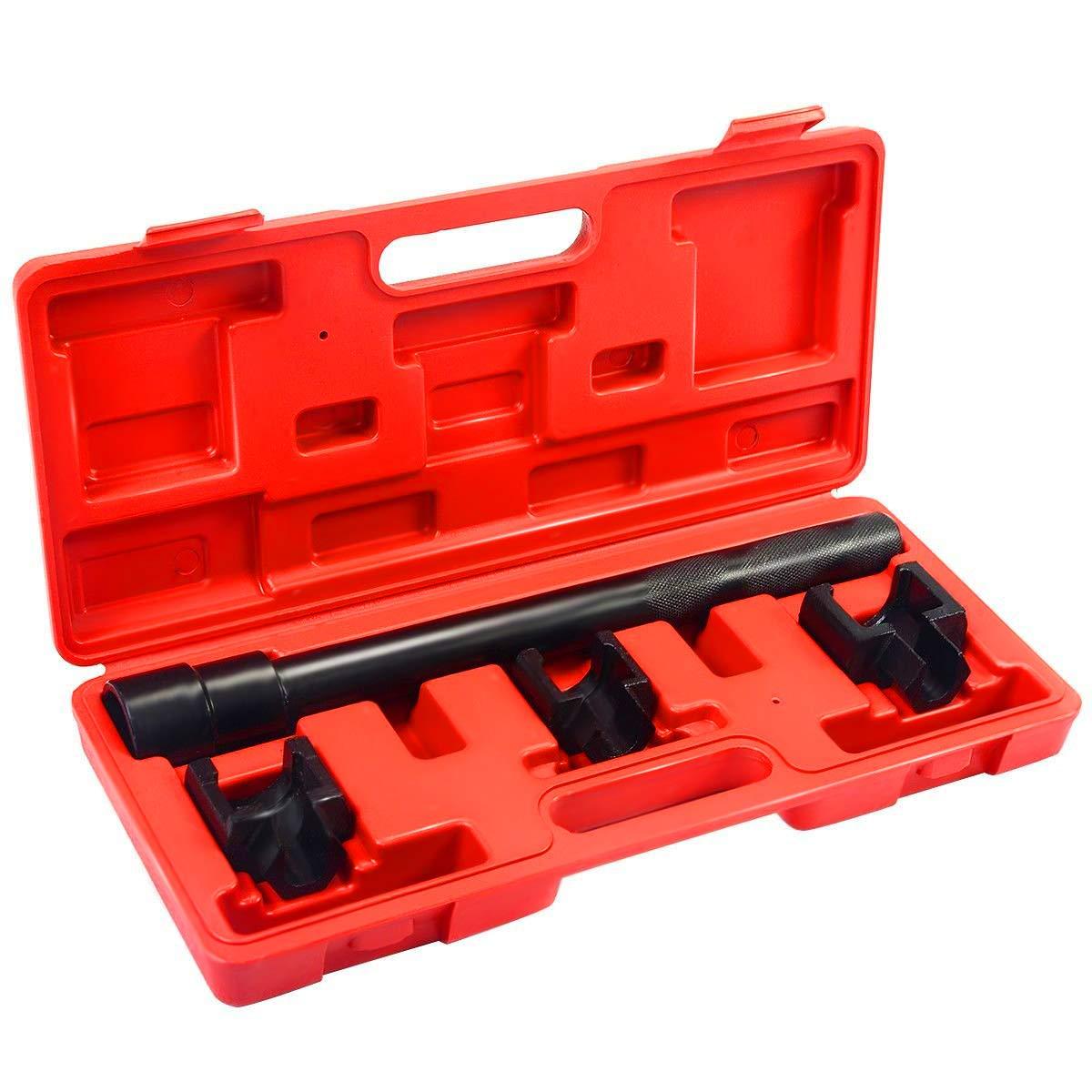 Goplus Inner Tie Rod Removal Installation Tool Set Mechanics Dual Tie Rod Adjusting Tool Kit