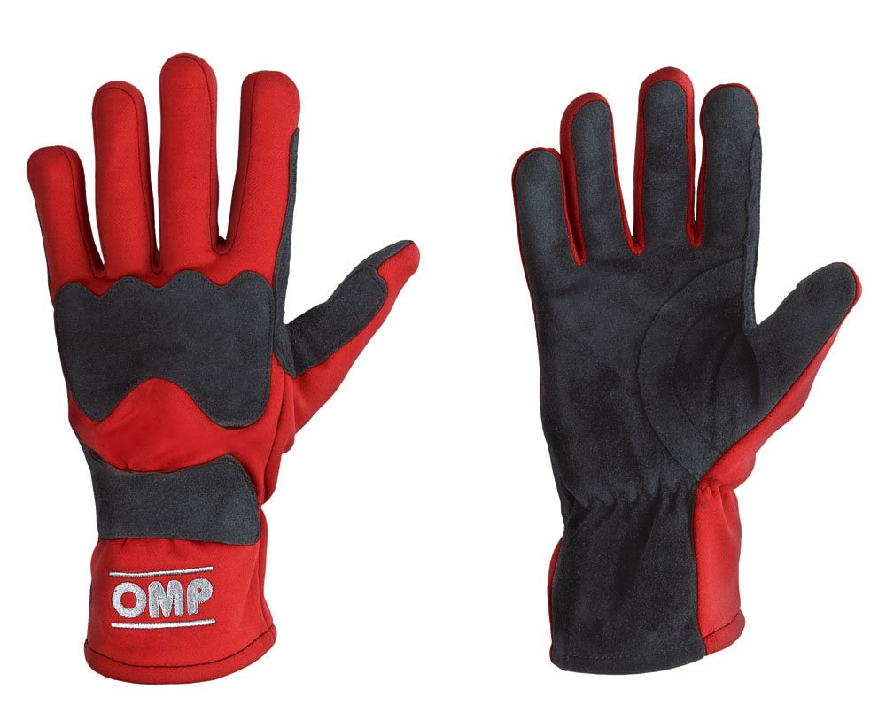 OMP KK02735 Grid Kart Karting Race Gloves Suede Leather in 3 Colours