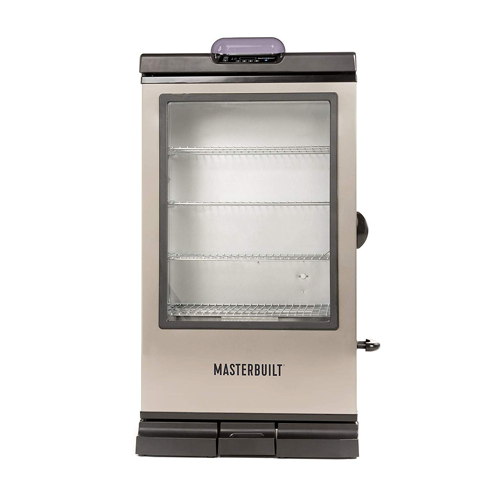 Masterbuilt MB20076718 Bluetooth Electric Smoker 240G Digital, Black with SS Door by Masterbuilt