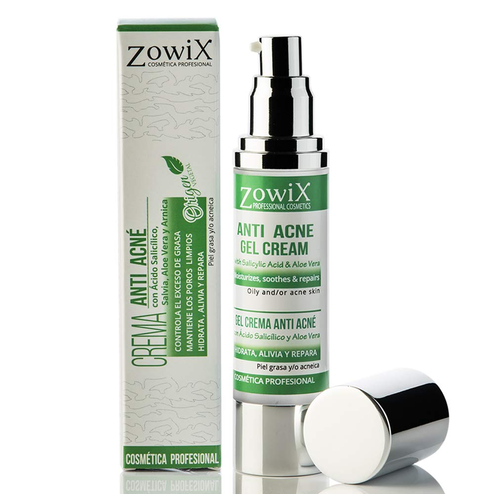 Crema antiacné para pieles impuras