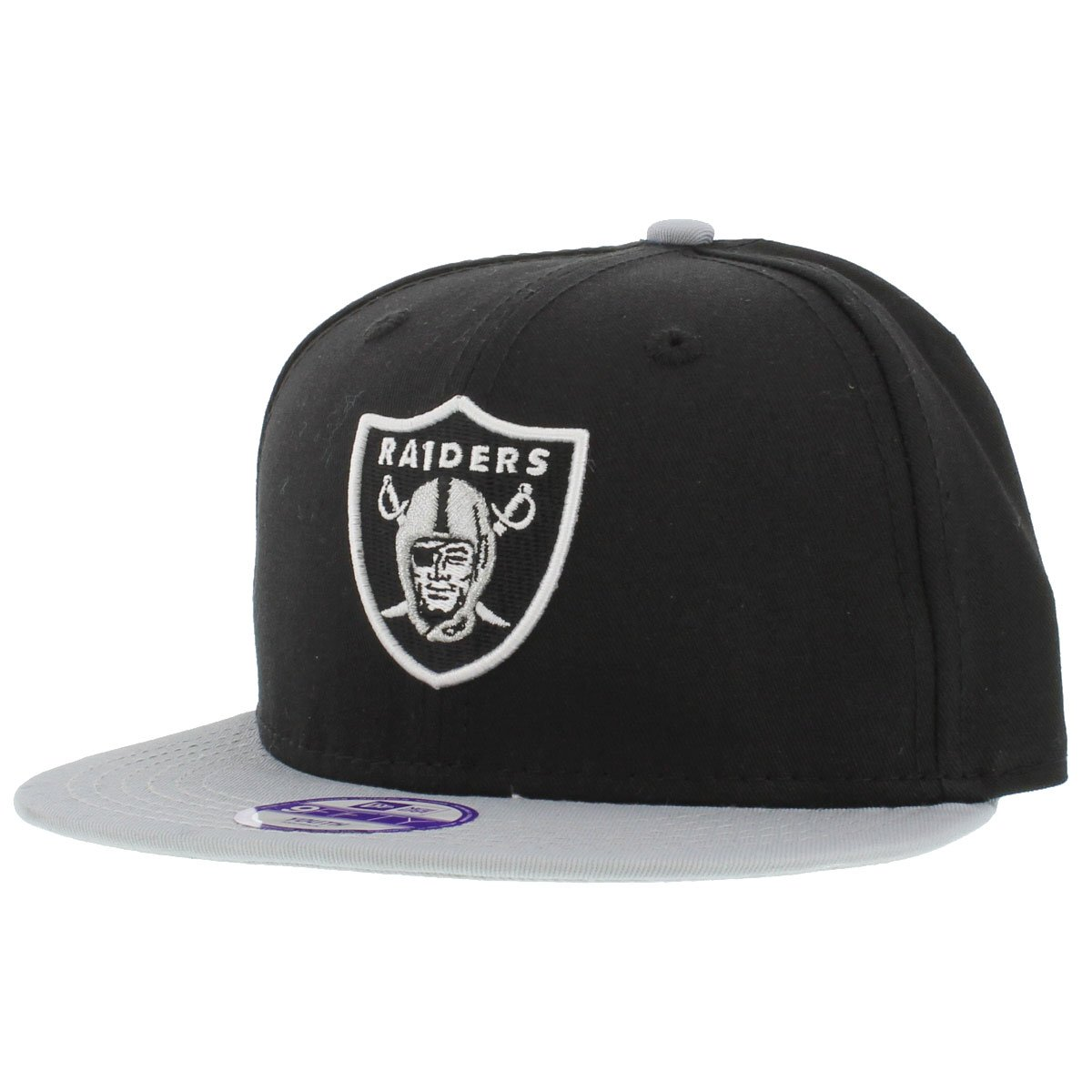 ea4600e4410 Amazon.com   Oakland Raiders NFL Kid Baycik snapback hat new era   Baseball  Caps   Sports   Outdoors