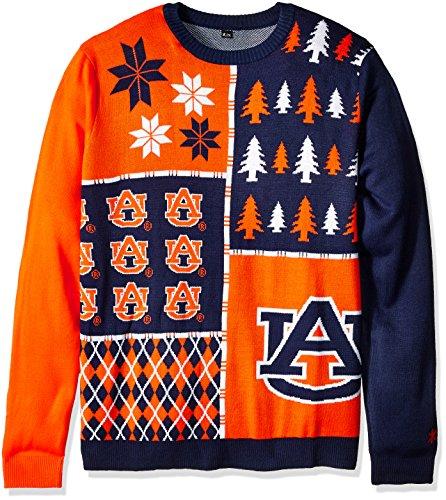 Klew Ncaa Busy Block Sweater  Xx Large  Auburn Tigers