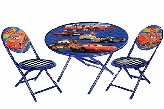 Amazon.com: Disney Pixar Cars Main Street Sprint Blue 3-Piece ...