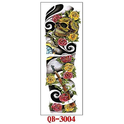 9 piezas Etiqueta engomada del tatuaje Etiqueta engomada pequeña y ...