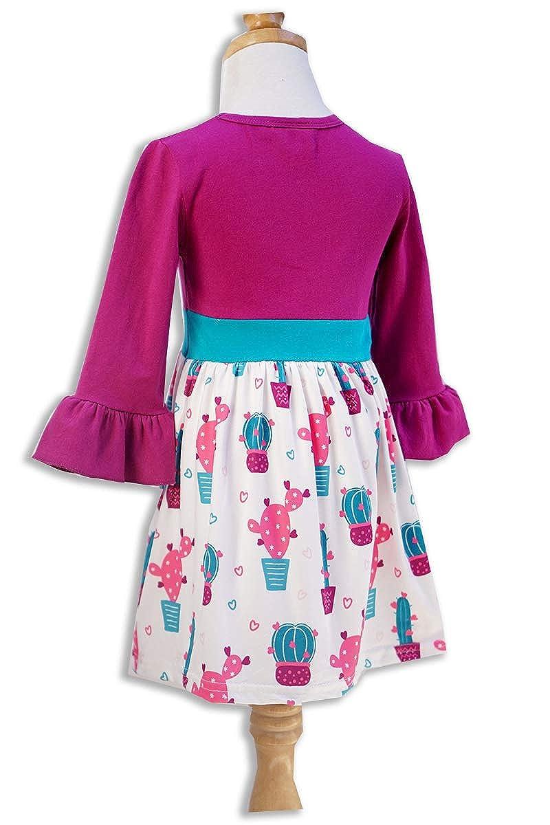 Honeydew cutie Boutique Valentines Day Bell Sleeve Purple Dress