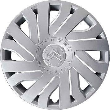 4 Tapacubos para rueda de 14 pulgadas para Citroën C1 a partir del 2005, no originales.: Amazon.es: Coche y moto