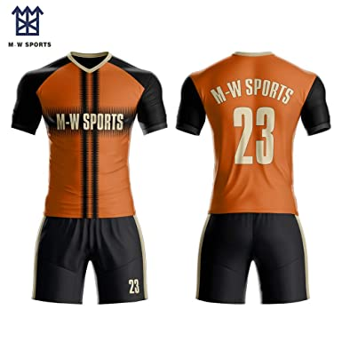 310d726f7 Amazon.com  Custom Soccer Jersey   Shorts Club Team Soccer Jersey ...