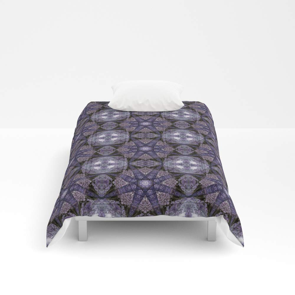 Society6 Comforter, Size Twin: 68'' x 88'', The Flow from The Woods by patterns4nature