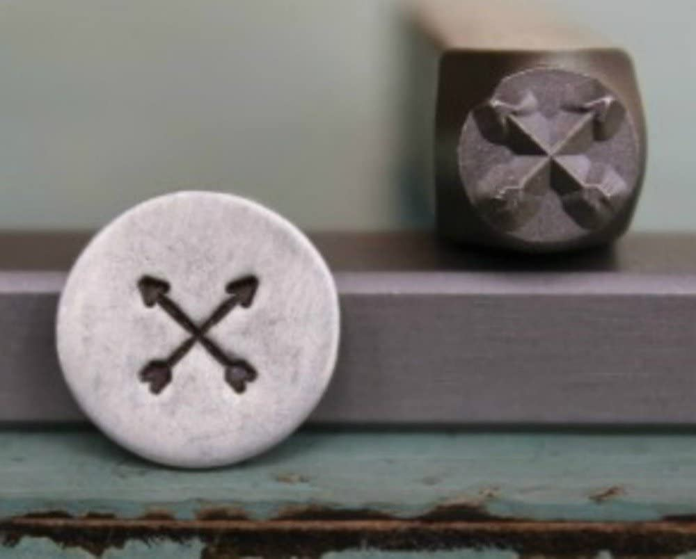 5mm Straight Arrow Metal Punch Design Jewelry Stamp