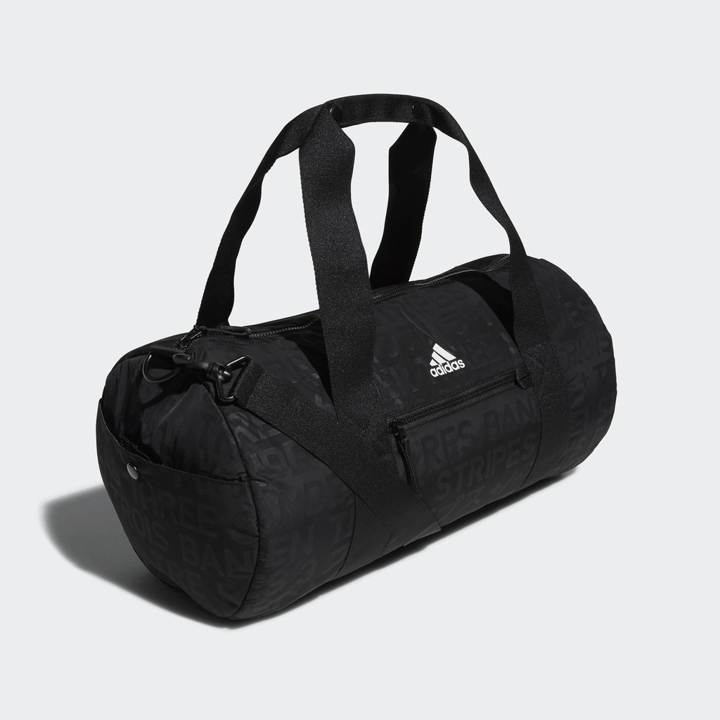 Amazon.com  adidas VFA Roll Duffel Bag, Black Emboss Black, One Size   Sports   Outdoors ac51395122