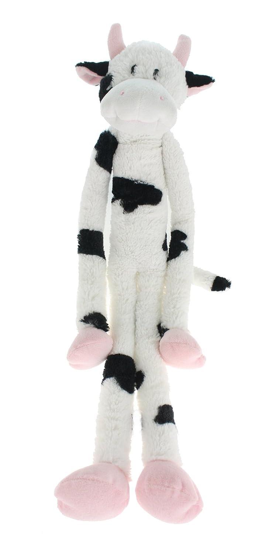 Multipet's Swingin Slevin XXL Oversized 30-Inch Spotted Cow Plush Dog Toy Multipet International 22428