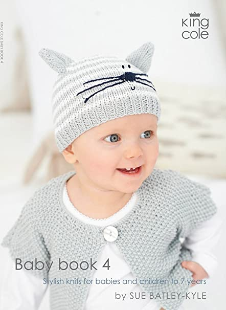 King Cole Knitting Pattern Baby Book 4 Sue Batley Kyle King Cole