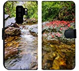 Samsung Galaxy S9 Plus Fabric Wallet Case Image ID: 28790457 Huihang Ancient Trail Hiking Tour Image Using Slow Shutter Speed wat
