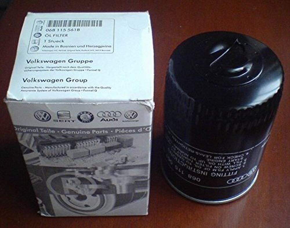 New Volkswagen Jetta Mahle Engine Oil Filter OC51 068115561B