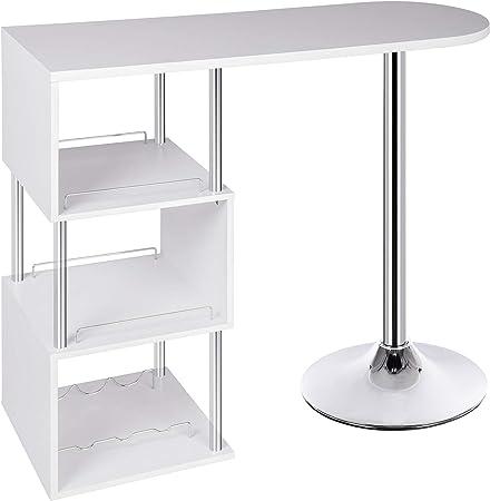 Esta mesa de bar será un excelente añadido para su cocina o comedor.,Espacio suficiente: El área de