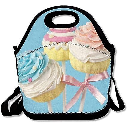 dbb394b538a2 Amazon.com: FZYN Colorful Cupcake Pops On Blue Background Latest ...