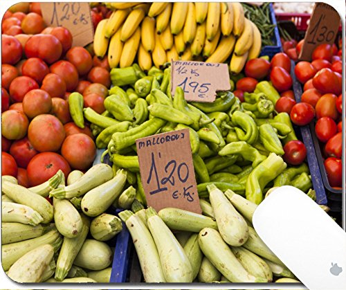 Fig Cucumber (Luxlady Gaming Mousepad 9.25in X 7.25in IMAGE: 21452240 Farmers market)