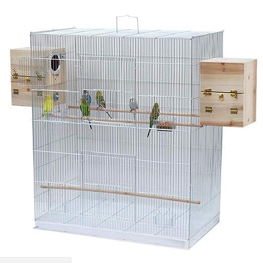 Meetshine Jaula para Pájaros con Caja De Cría para Cacatúa Loro ...