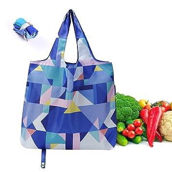 Bolsas de comestibles reutilizables plegables, Tarea pesada ...