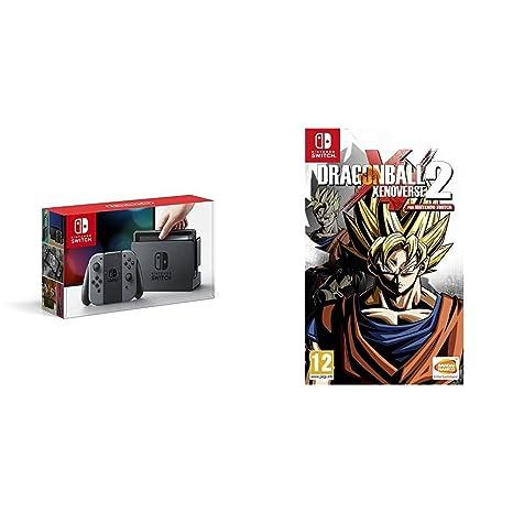Nintendo Switch - Consola, color gris + Dragon Ball ...