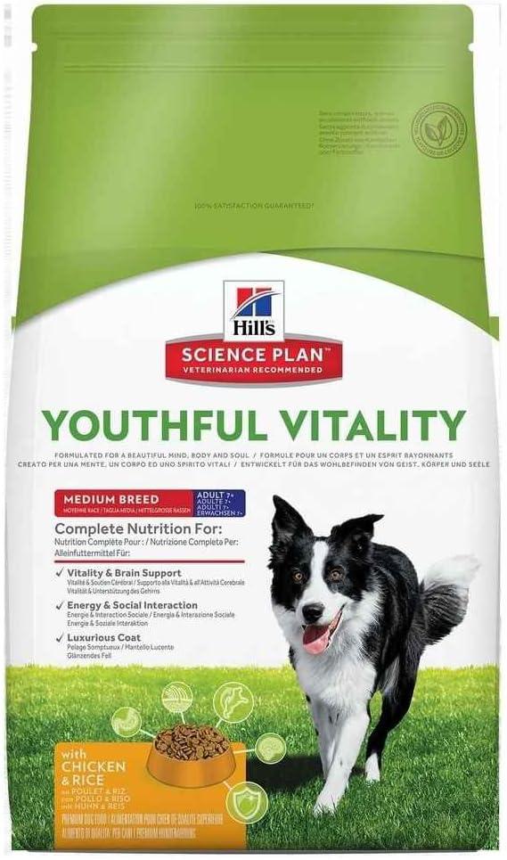 Hills Scie Hsp Canine Adult +7 Youthful Raza Mediana Pollo 10Kg 10000 g