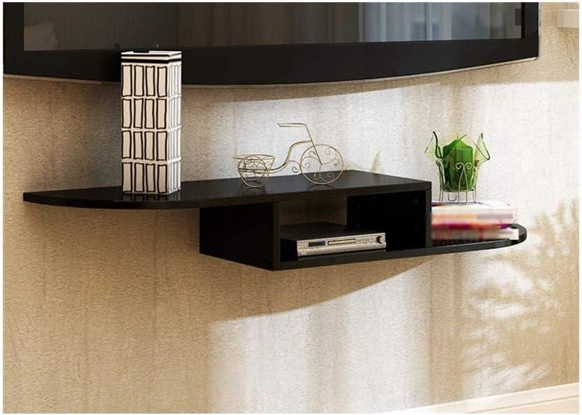 lqqgxlportable折りたたみテーブル壁マウントTVキャビネット、壁、ラック、折りたたみテーブル、 ブラック