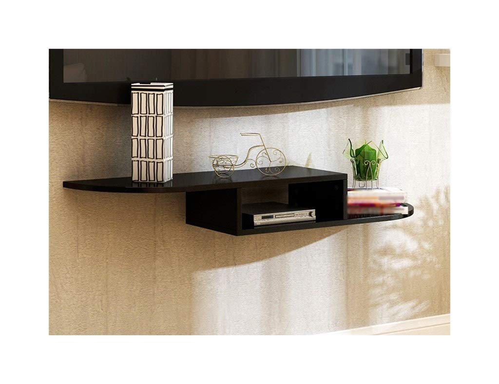 BLACK Laptop Table Wall Mounted TV cabinets, Wall Racks, Folding Tables, Support (color   White)