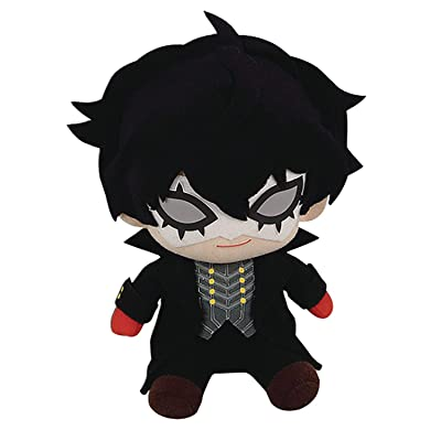 "Great Eastern Entertainment Persona 5- Phantom Thief Ver. Sitting Pose Plush 6"" H: Toys & Games [5Bkhe1207180]"