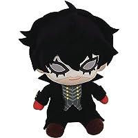"Persona 5- Phantom Thief Ver. Sitting Pose Plush 6""H, Black, One Size"