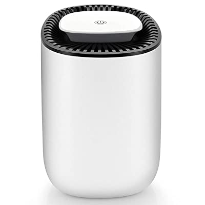 .com - Hysure Quiet and Portable Dehumidifier Electric, Deshumidificador, Home Dehumidifier for Bathroom, Crawl Space, Bedroom, RV, Baby Room(600ml) -