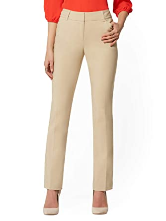 3dfcc933a89 Image Unavailable. Image not available for. Color  New York   Co. Women s  Straight Leg Pant All-Season Stretch ...