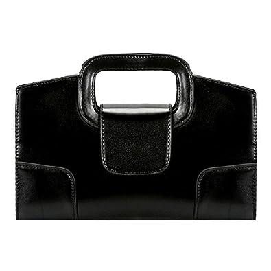 fc845cc9711 ZLMBAGUS Women Vintage Flap Tote Top Handle Satchel Handbags PU Leather  Clutch Purse Shoulder Bag