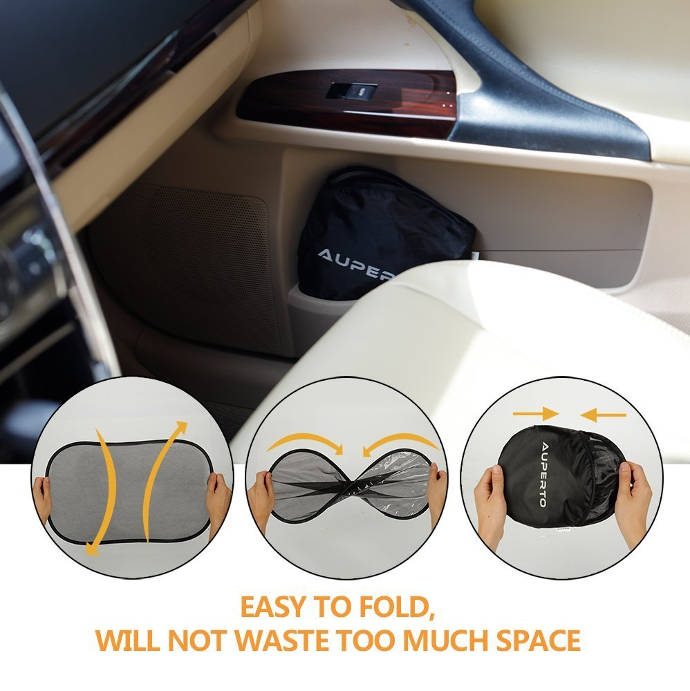 Windshield Snow Cover Ice Protector Waterproof Frost Rain Resistant 58 x 32 with Mirror Cover Winter Summer Auto Shade 4350390239 AUPERTO Windshield Cover Best for Sedan