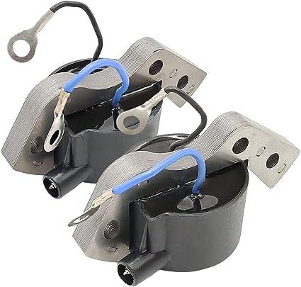 2Stk Ignition Coil Zündspule Für Johnson Evinrude 584477 582995 Außenborde Motor