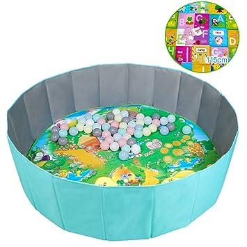 Piscinas de bolas -SYY Plegables de Tela Oxford de Doble Capa con ...