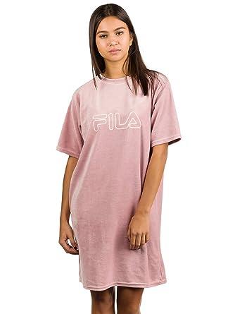 a65e9e6316084 Fila Luna Long W robe woodrose: Amazon.fr: Vêtements et accessoires