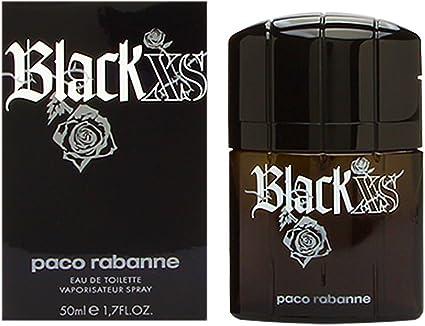 perfume black xs hombre 50 ml