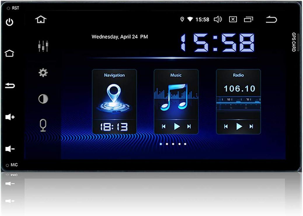 Dasaita Android 9.0 Car Stereo for Toyota Tacoma 2016 2017 2018 Radio for Toyota Corolla 2017 2018 Dash for Toyota Sienna 2015 2016 2017 2018 with 9 Screen GPS Navigation 4GB Ram 32GB ROM Head Unit
