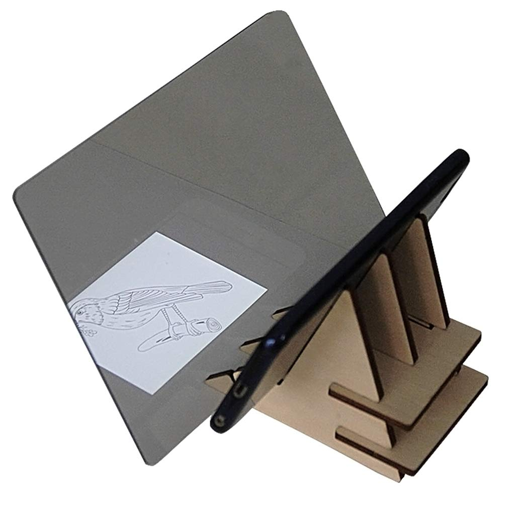 Kathope - Pannello da disegno per bambini, set Copy Pad Handwerk portatile a base zero