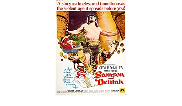 samson and delilah 1949 movie poster