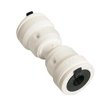 Wandscheibe 16 mm auf 1//2 Alu-Verbundrohr Steckfitting Vision 56 mm