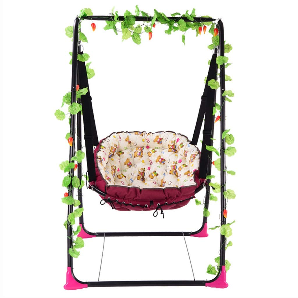 Stootrel- Baby Cradle Swing, Baby Crib Cradle Rocking Chair Newborns Bassinets Sleep Bed, Newborns Sway Rocking Sleeping Basket Bed by Stootrel
